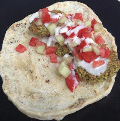 spelt falafel