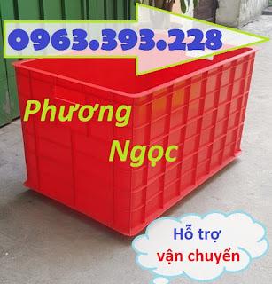 Thùng nhựa đặc 5 bánh xe, thùng nhựa công nghiệp đẩy hàng, thùng nhựa đặc 5bxtdd