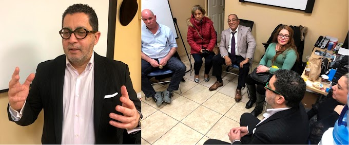 Coordinador Amigos de Leonel afirma dominicanos que regresan dan puntero al ex presidente  para ganar en mayo