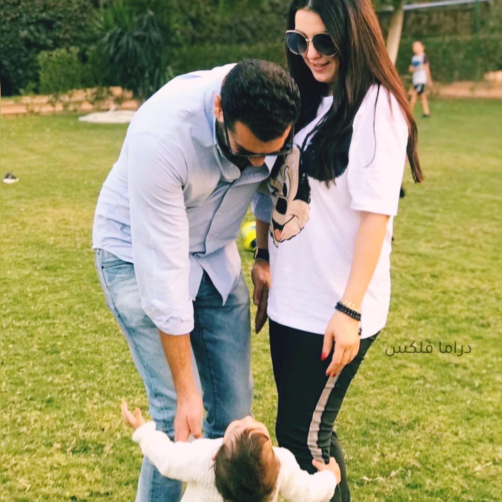 زوجه عمرو يوسف, زوج كندا علوش