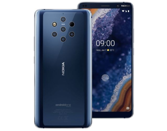 Nokia 9 PureView Android 10 Update Rolling Out