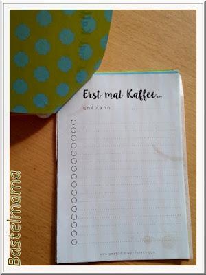 Todo, Erst mal Kaffee, Gästegeschenk