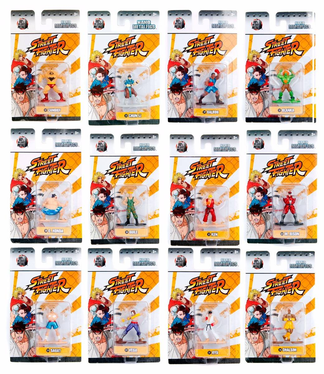 Adventures Into Mystery Collectibles Street Fighter Nano