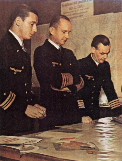 Admiral Doenitz and staff worldwartwo.filminspector.com