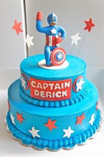 Superhero Cakes - superman cake - batman cake - joker cake - captain america cake