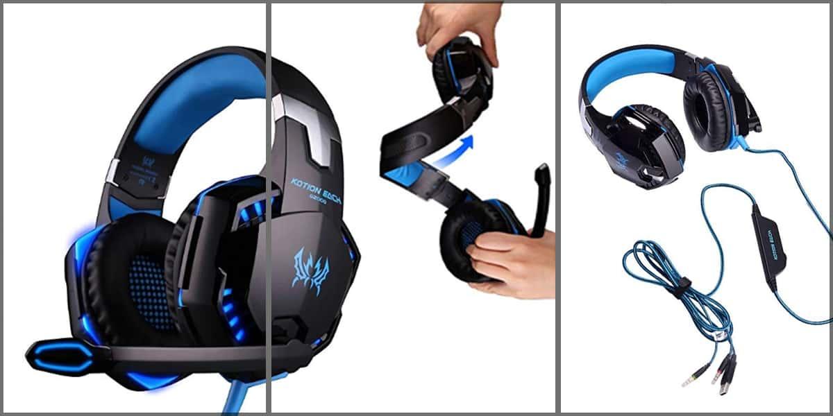 cheap cool looking headphones