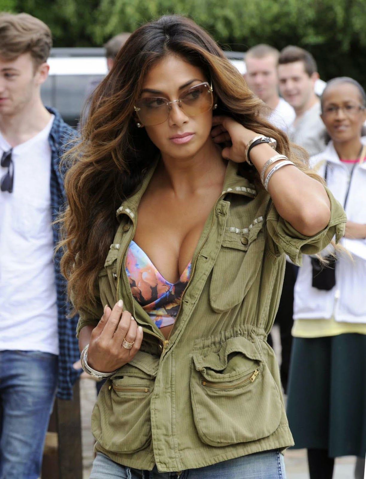 Nicole Scherzinger Latest Photoshoot 2014 Wallpapers Hot sexy model stills