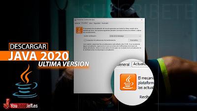 Descargar Java Ultima Versión 2020 - 32 y 64 BITS