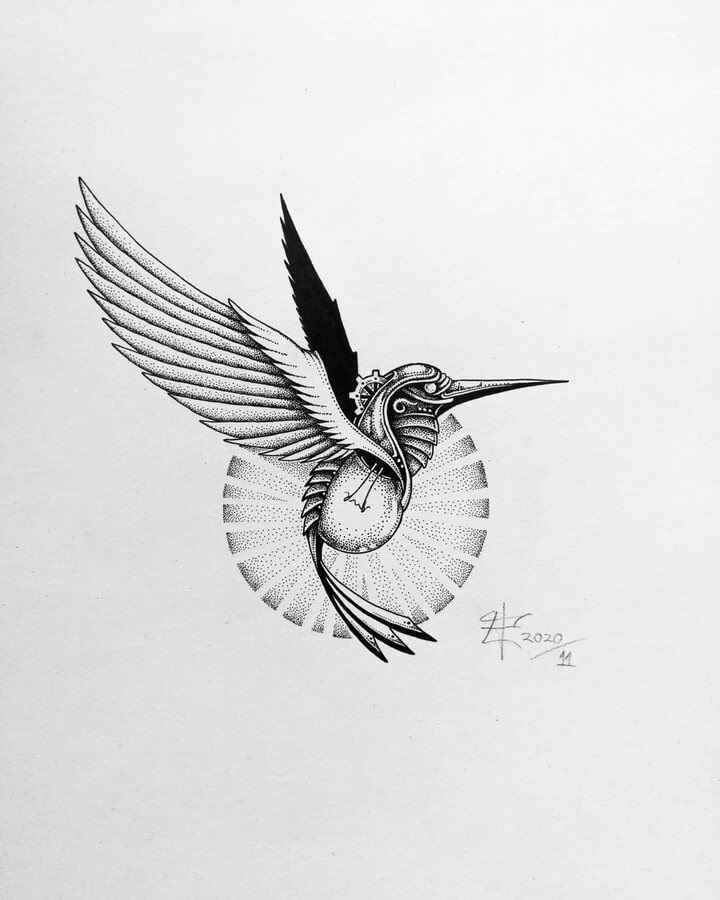 04-Stylised-hummingbird-Zakrii-www-designstack-co