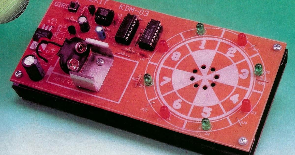 proyecto electronico ruleta digital
