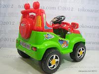 4 Mobil Mainan Aki Pliko PK8518N 4x4 Jeep Max Express