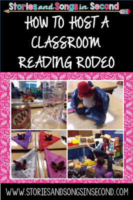 Western songs, vocabulary words, rhymes, and stories are sure to excite your young readers and writers! Get ready to host your own classroom literacy rodeo with ideas from Stories and Songs in Second!