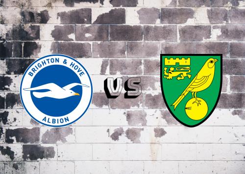 Brighton & Hove Albion vs Norwich City  Resumen