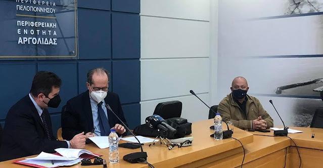 Συμβάσεις έργων προϋπολογισμού 2.430.000 ευρώ στην Αργολίδα υπέγραψε ο περιφερειάρχης Πελοποννήσου