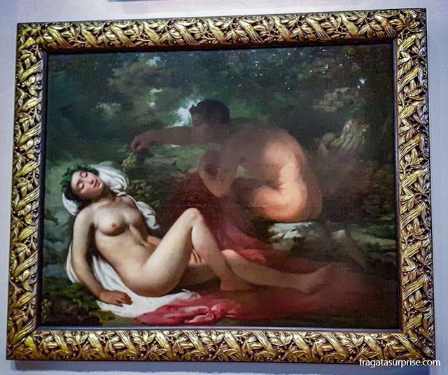 """""""A Bacante"""", tela de Victor Meirelles no Museu Nacional de Belas Artes"""