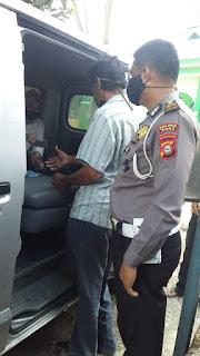 Kanit Regident Polres Bone IPTU M Idris Turun Langsung Pantau Kinerja Stafnya