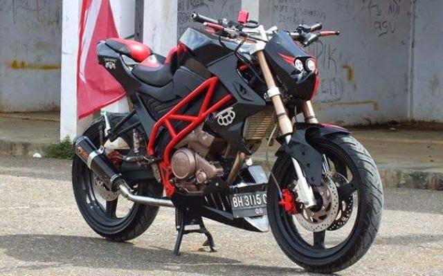 Modifikasi Motor Yamaha Vixion Street Fighter