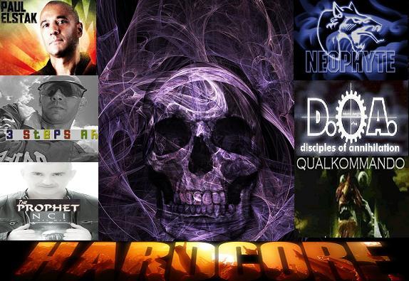 Hardcore története, előadók, más stílusokkal