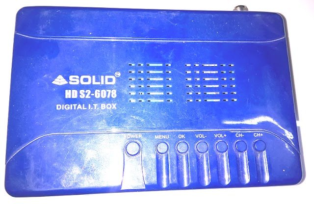 SOLID Launched HDS2-6078 DVB-S2, FullHD, MPEG-4 Set-Top Box