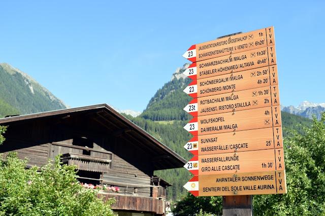escursione in valle aurina ahrntal