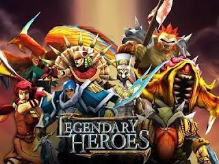 Legendary Heroes MOBA Offline _fitmods.com
