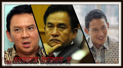 yusril percaya mampu kalahkan ahok, Ahok, Ahok Gubernur DKI, Jakarta, Partai Politik, Politik, Reaksi lawan politik, PDIP, Indonesia,