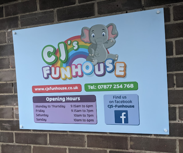 CJ's Funhouse   Cramlington Softplay Review - opening hours