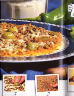 بيتزا اللحم المفروم