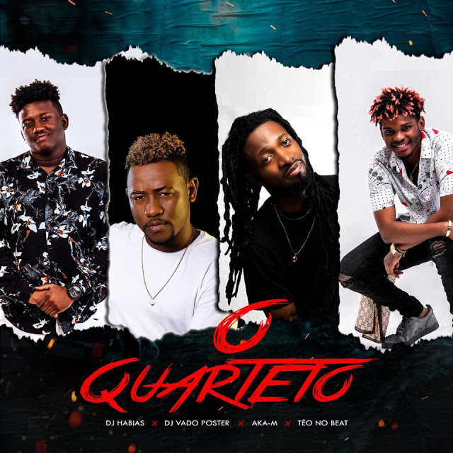 Dj Habias Dj Vado Poster Aka-M &  Teo no Beat - O Quarteto (Afro House) 2020