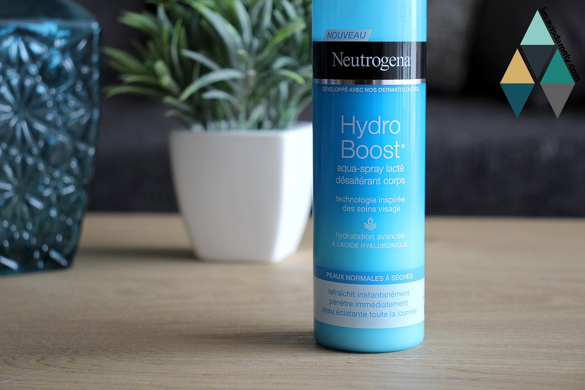 avis aqua spray lacté neutrogena hydro boost