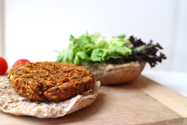 Vegan Chickpea and Mushroom Burgers