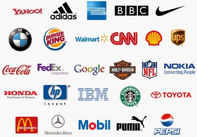 35 Logotipos de marcas famosas
