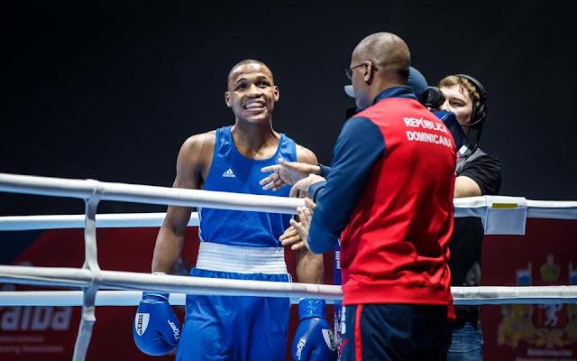 Dominicanos JJOO Tokio 2021: Eury Cedeño propina nocaut y avanza a octavos en boxeo JJOO