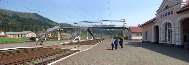 Вокзал в Сколе
