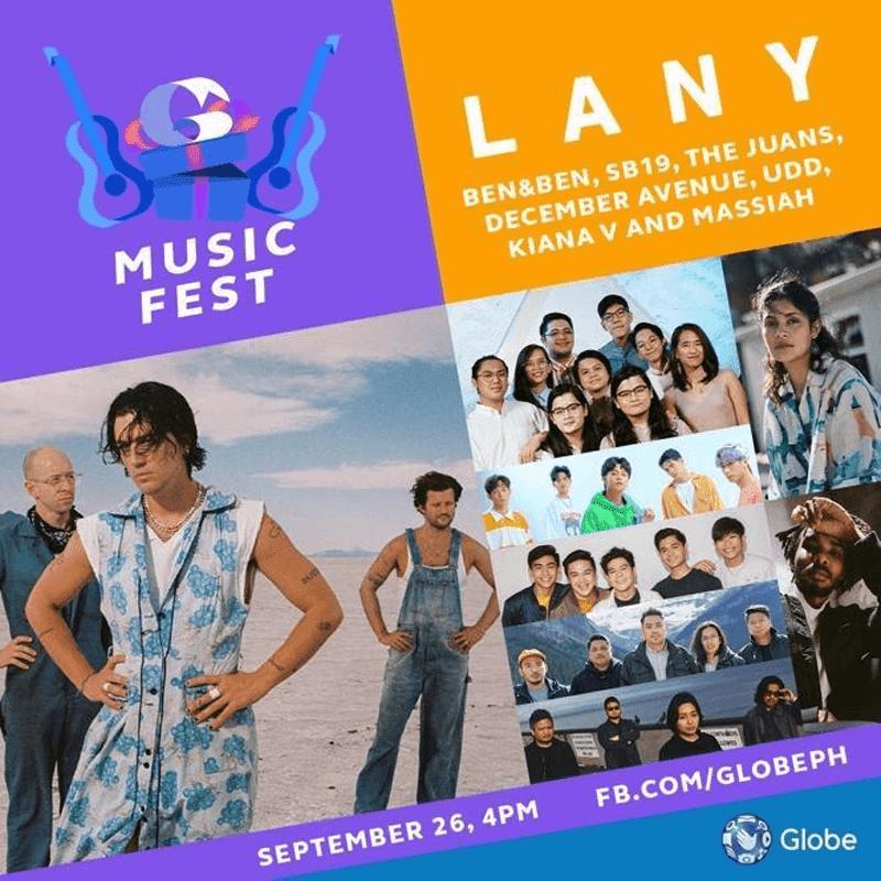 A music festival on September 24