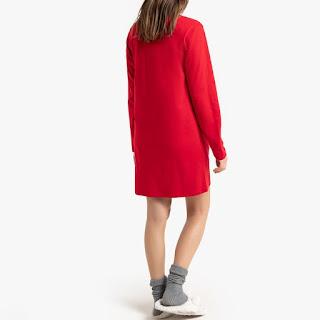 vetement la redoute chemise de nuit pyjama robe de chambre kiki monchhichi noel nouveauté reduction code promo