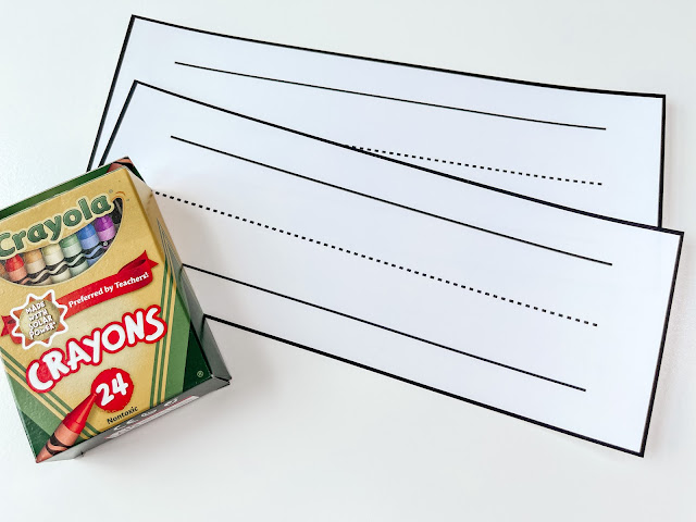 FREE first day of school lesson plans for first and second grades.