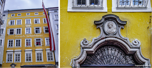 Casa de Mozart, Salzburgo, Áustria