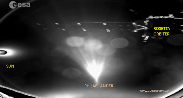 PHILAE FIRST PICS OF COMET 67/P
