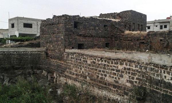 قرية الثعلة بالسويداء آثار و أوابد تعود إلى مختلف العصور(فيديو)