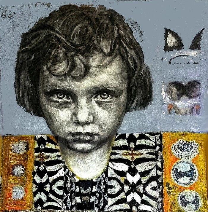 Греческий художник. Papoulia Smaragda
