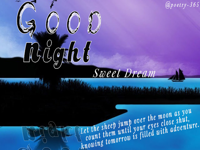 Wishes And Poetry: Good Night Sweet Dreams Image With
