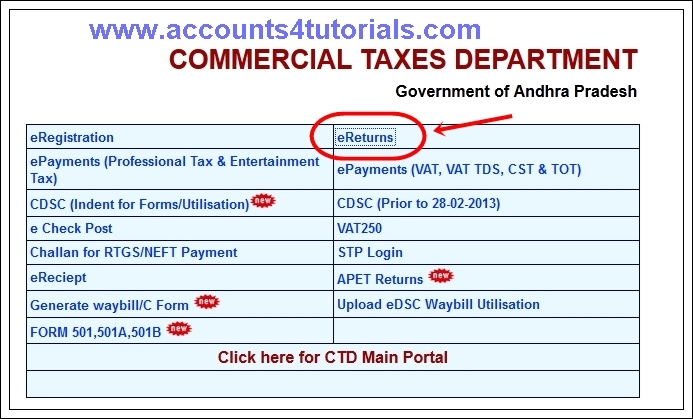 Online F-Form Generate (AP Commercial Tax) - Accounting & Taxation