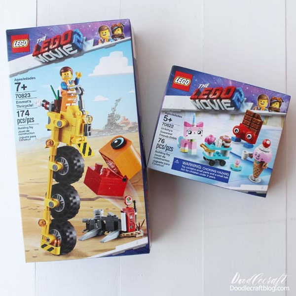 Lego Movie 2 Lego sets