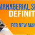 Managerial Skills Definition For Developing Leaders