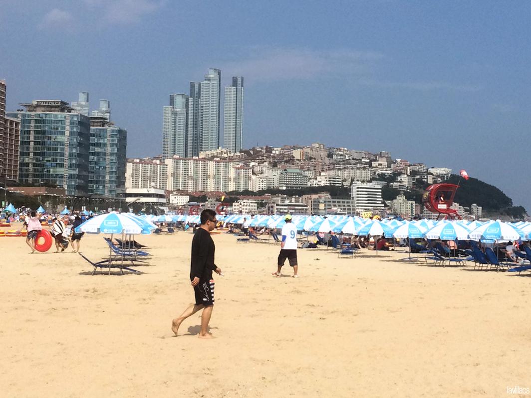 Seoul, Korea - Summer Study Abroad 2014 - Haeundae Beach