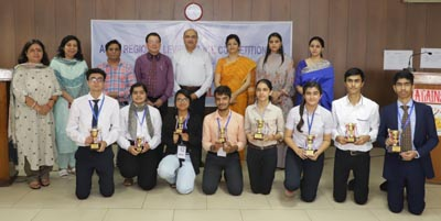 Winners of ASISC Regional Level Debate Competition