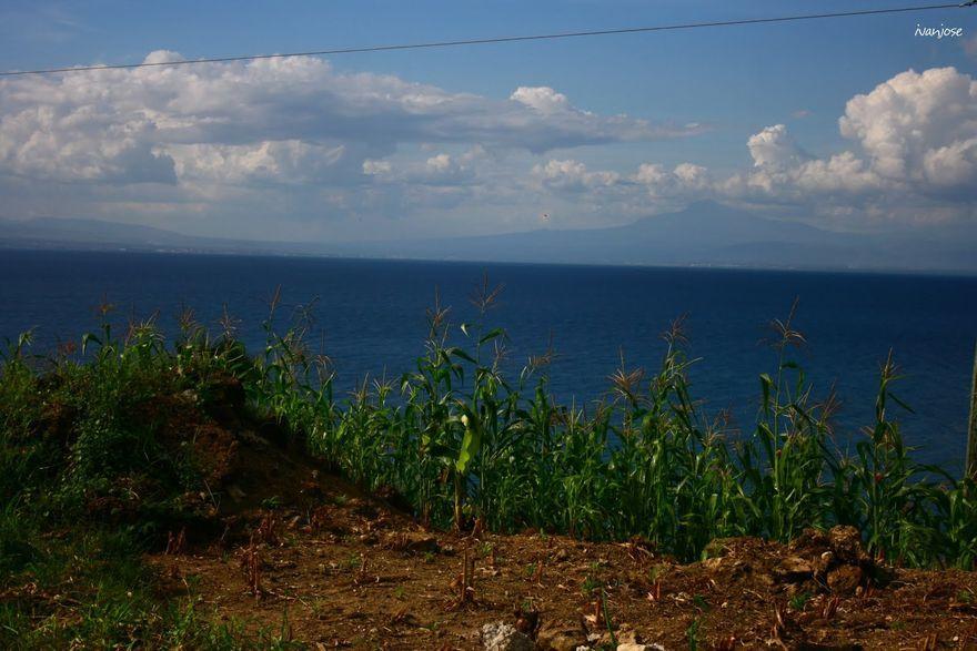 View of Sarangani Bay in Mindanao