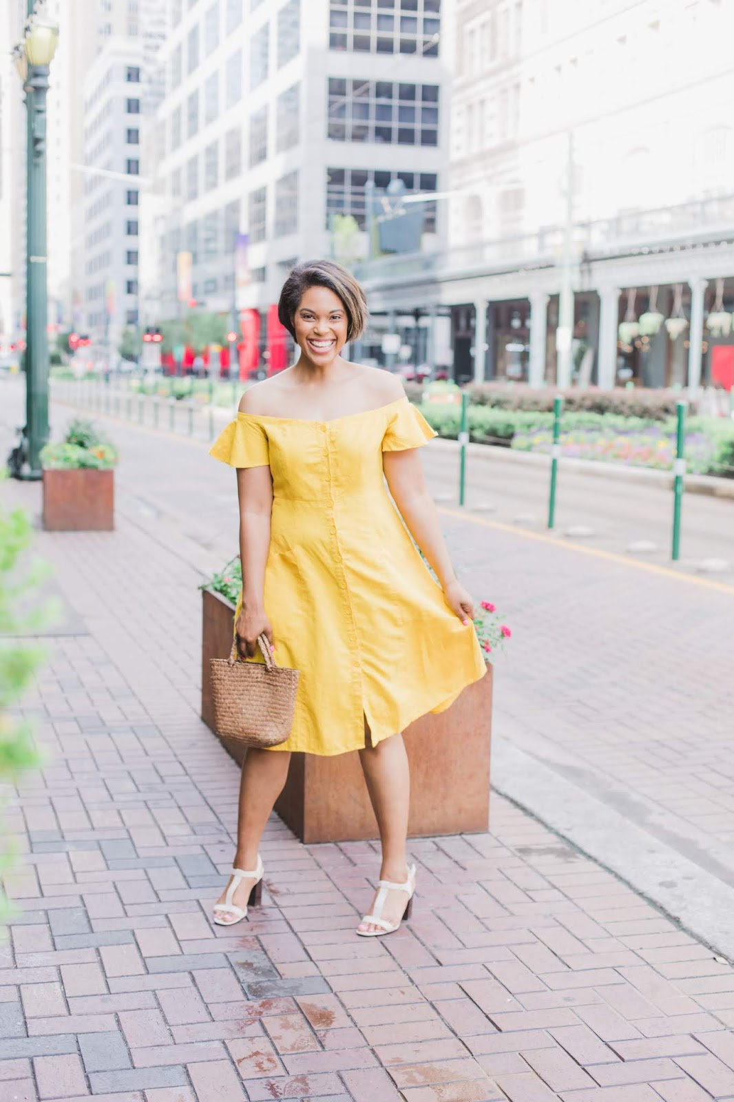 The Perfect Yellow Summer Dress from Forever 21