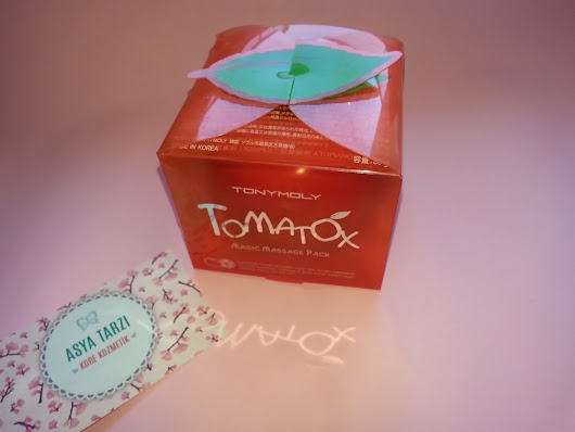 Tonymoly Tomatox Magic White Massage Pack/ Asya Tarzı Kozmetik